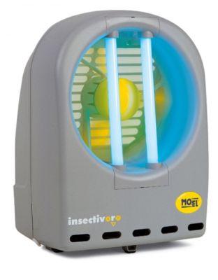 """MO-EL Insectivoro """"Eco"""" NEU - 2 x 11 Watt grau"""
