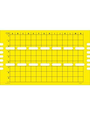 Klebefolien für Flytrap 40 und 80 gelb