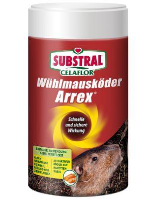 SUBSTRAL® Celaflor® Wühlmausköder ARREX,250 g Pack