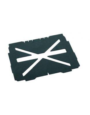 systainer® T-LOC Bodenpolster mit Kreuzausschnitt